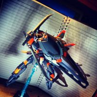 Gundam Kitbash Age 2 Ronin - Dual Sword Style.., by s00nk1a