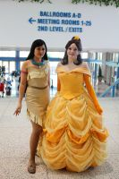 Pocahontas and Belle by LeHypnotique