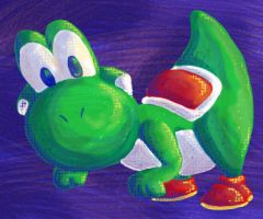 Green Yoshi by Cheese-is-tasty