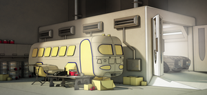 Rescued Bus! by aconnoll
