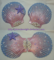 Princess Jewelry Mermaid Seashell Bra by PlutonianNight