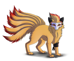 :PC: Inferno the Ninetales by Intellectual-Panda