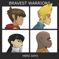 bravest warriors! demon days by LarcynXI