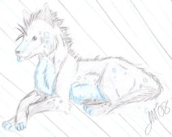 New Wolf- Bleh by CrazyBatty