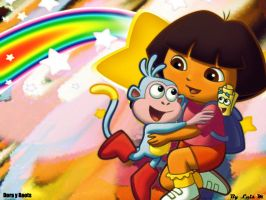 Dora Y Boots by MoonManxO