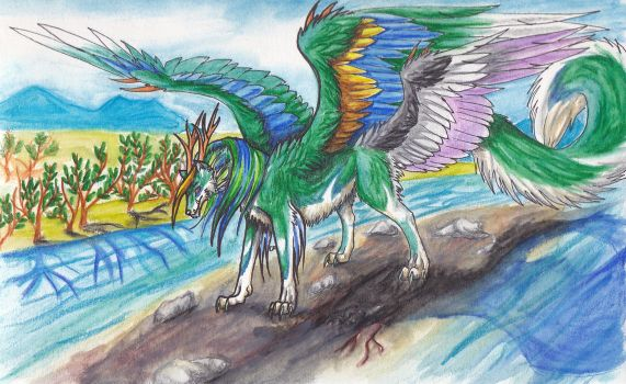 Beast of the Delta by ElementalShifter