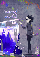 Blank Canvas X Cover + Fic by DrawerElma