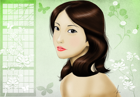 Chinese art Sample New Style 3 by karlonne