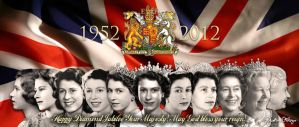 Diamond Jubilee Tribute to HM Queen Elizabeth II by justinadriel