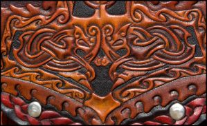 Thors Hammer Clock detail by Wodenswolf