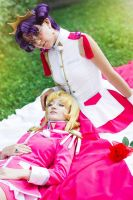 Anthy and Utena by l-Saya-l