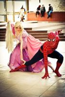 Rapunzel Doll and Spiderman by Usagi-Tsukino-krv