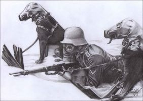 WW1 Gas masks by LoveDemise