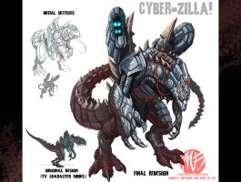 CyberZilla redo for jira004 by KaijuSamurai