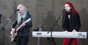 Indica, acoustic gig @ Kotka 2013 01 by Wolverica