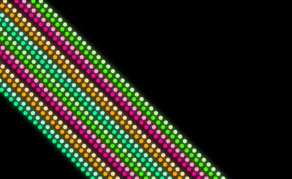 Glowing Dotted Stripe's 2 by carmo92