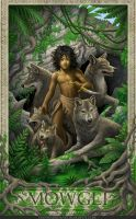 Jungle Book- Mowgli by GoldenDaniel
