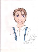Portrait of Dathan by Bella-Who-1