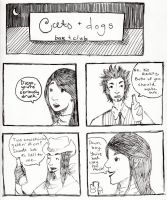 D19-PW- Cats + Dogs P1 by BlueCheshireCat