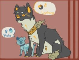 Pup adopts SOLD by Fox-mutts