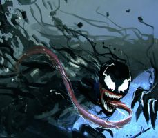 Venom Fanart by DreadJim