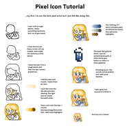 Pixel Icon Tutorial by Locomatic
