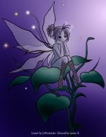 Little Blue Fairy by Loulou13