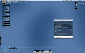 Mac desktop by Mr-JC