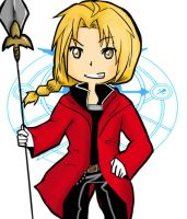 Edward Elric by WolfyBliss