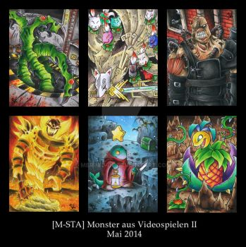 Videogame-Monsters II - ATC by Merinid-DE