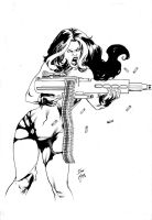Red She Hulk by Ed-Benes-Studio