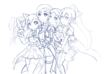 Sword Art Online WIP 3 by Candy-Arts