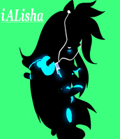 I pod alisha xD ( iAlISHA) by Xalisha-light-azureX