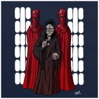 Emperor Palpatine. by stayte-of-the-art
