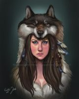 Mother-Wolf by NatsumeWolf