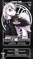 [Commission] Zanon Silvus by vavacung