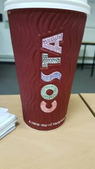 Coffee Cup Art by simmy1984