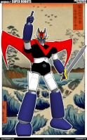 Great Mazinger Thunder Break by cosedimarco