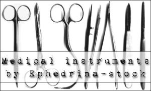Medical instruments brushes by ephedrina-stock