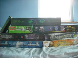 My Video Board Game Collection by betterwatchit