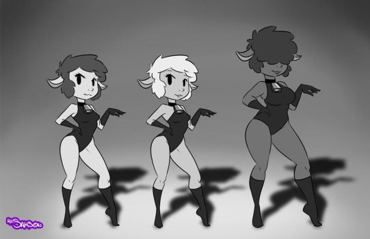 All the sexy lambs by Mr-Samson