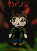 Dean Quote Card by ThePlatypusNimrod