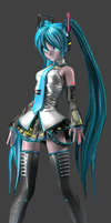 CV01 Hatsune Miku V2 ( full view ) by LGSM1996
