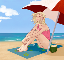 Beach by HetteMaudit