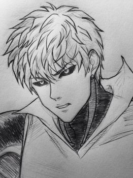 One-Punch Man: Genos by JainaNaberrie