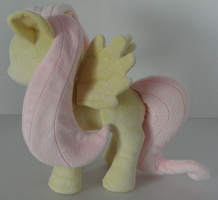 Fluttershy Side View by PonyPlush