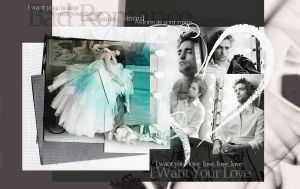 Rob and Kris Bad Romance by Miss-deviantE