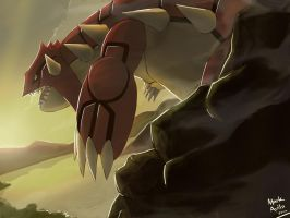 Pokemon: Groudon by mark331