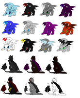 Free Adoptables batch 13 (closed) by Kitty-of-Doom524