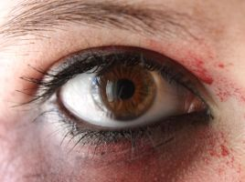 Light brown eye stock 3 by EvilHateYouAllStock